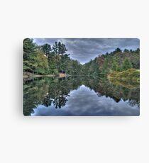 Mirror Water Canvas Print