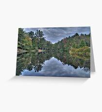 Mirror Water Greeting Card