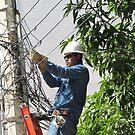 Mexican Electricians are Artists - Electrisistas Mexicanos son Artistas by PtoVallartaMex