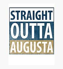 Straight Outta Augusta Photographic Print
