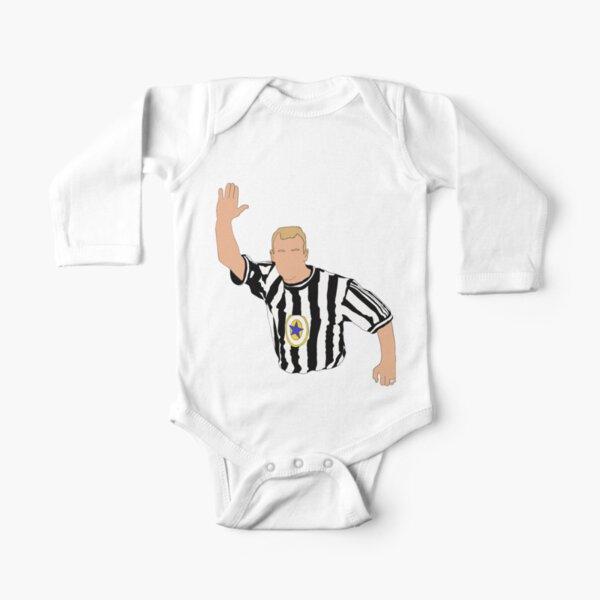 Alan Shearer Newcastle Iconic Celebration Long Sleeve Baby One-Piece