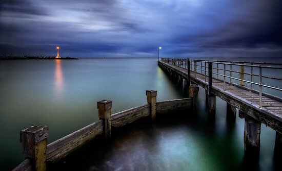 Old St Kilda Pier by Lincoln Harrison