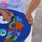 Painting a Plate - Pintando un Plato by PtoVallartaMex