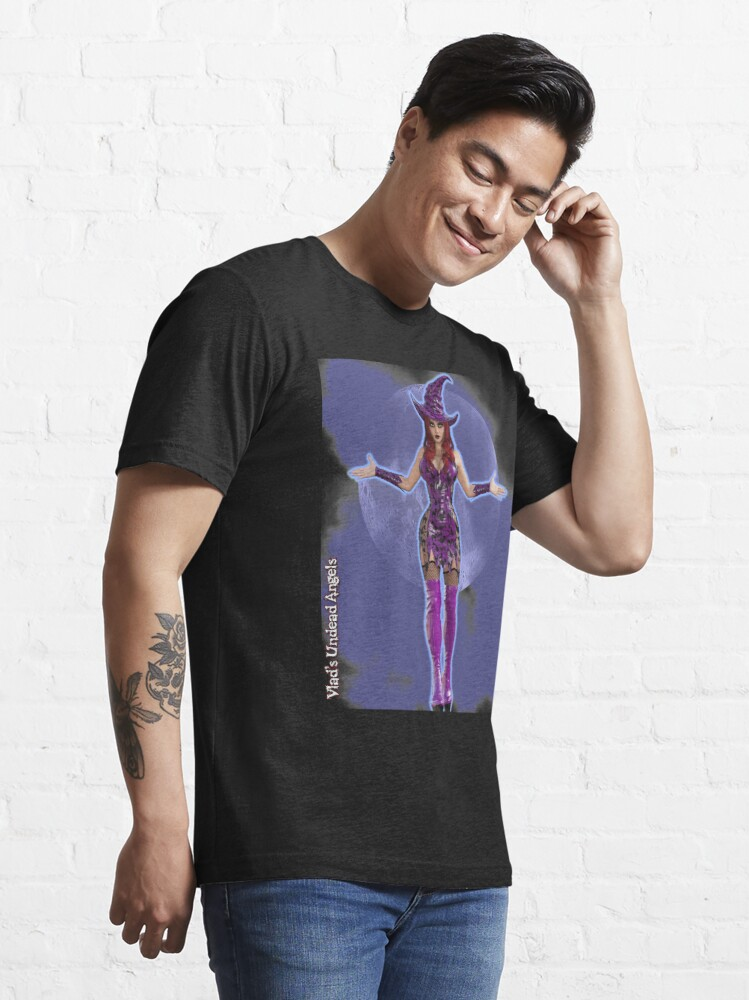 Alternate view of Classic Monsters: Witch By Moonlight Essential T-Shirt