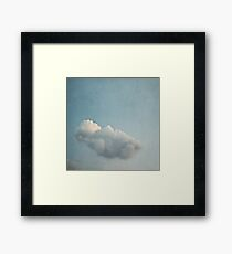 Float on Framed Print