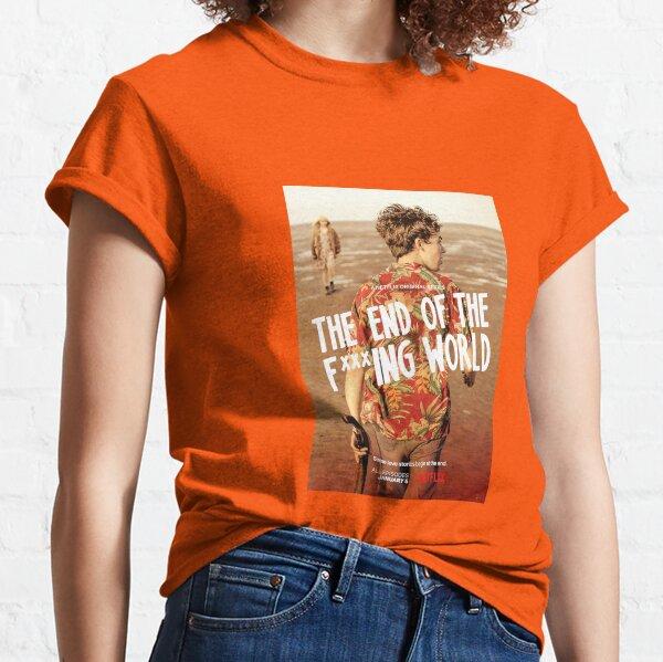 El final del cartel de F Ing World James Camiseta clásica