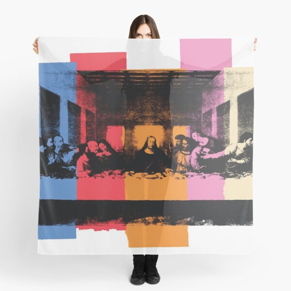 Andy Warhol | Detail of the Last Supper Scarf