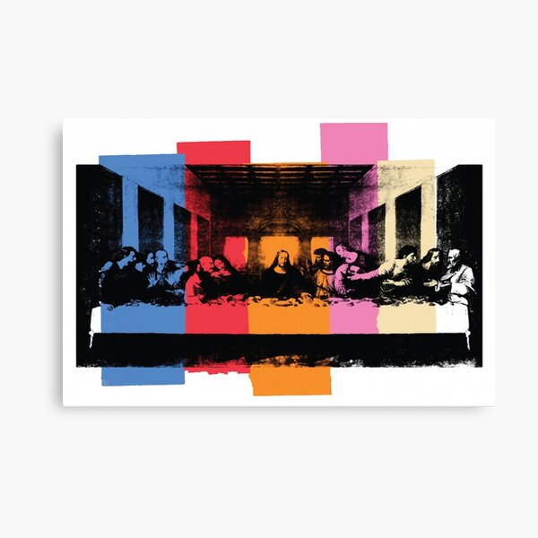 Andy Warhol | Detail of the Last Supper Canvas Print