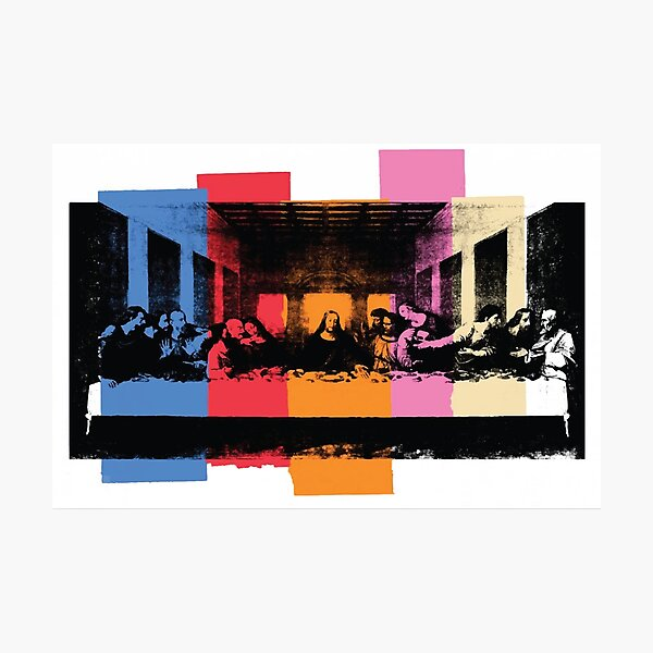 Andy Warhol | Detail of the Last Supper Photographic Print