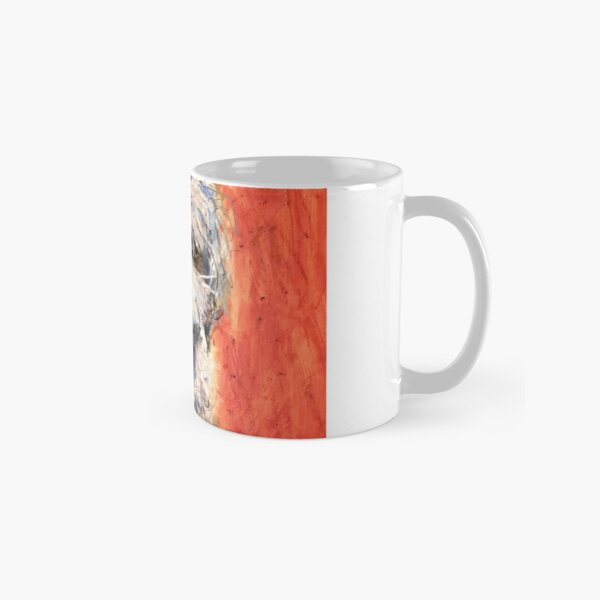 Whimsical Puppy with Tie Classic Mug