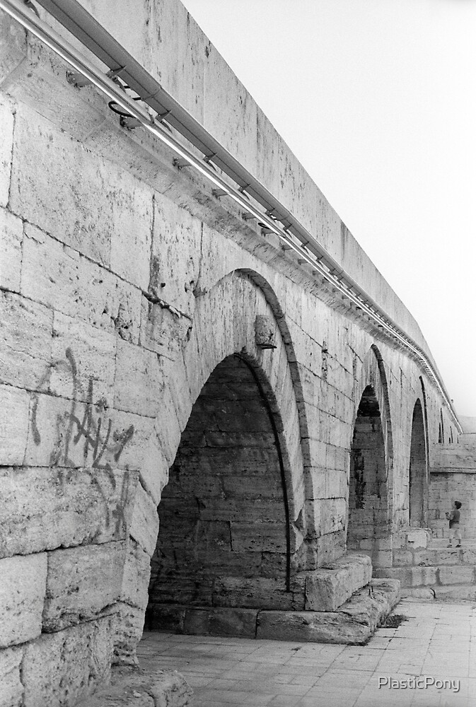 Stone Bridge, Skopje by PlasticPony