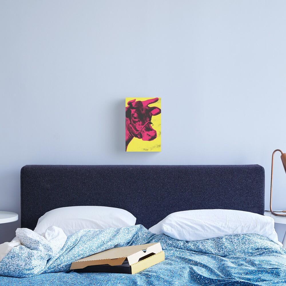 Andy Warhol | Cow Canvas Print