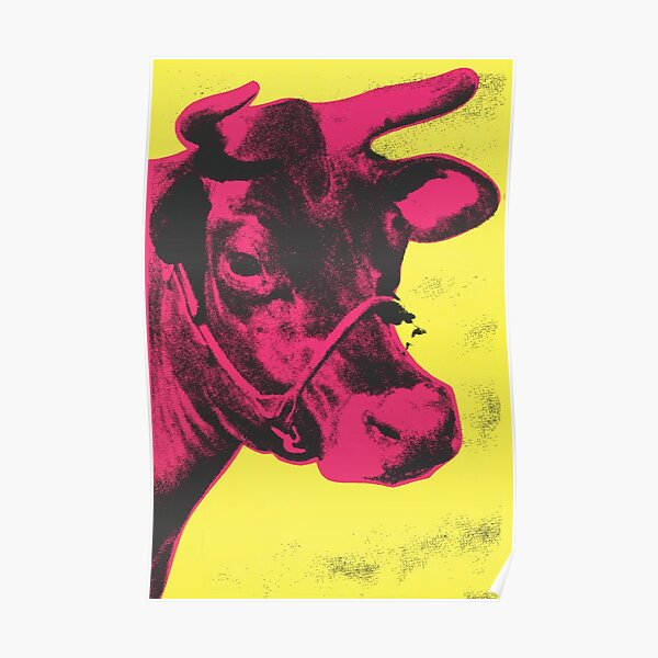 Andy Warhol | Cow Poster
