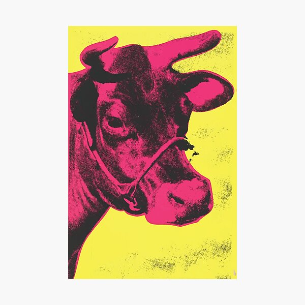 Andy Warhol | Cow Photographic Print