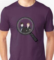 Sherlock & John Microscope T-Shirt