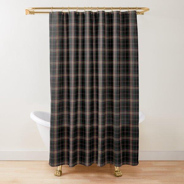 Academie Duello Tartan Shower Curtain