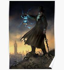 Steampunk Hermit Poster