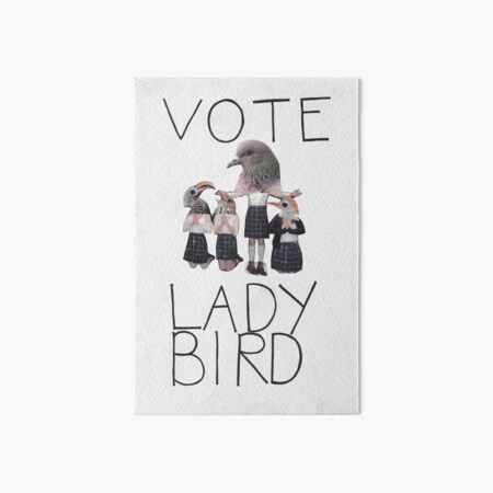 Vote Ladybird Poster Art Board Print