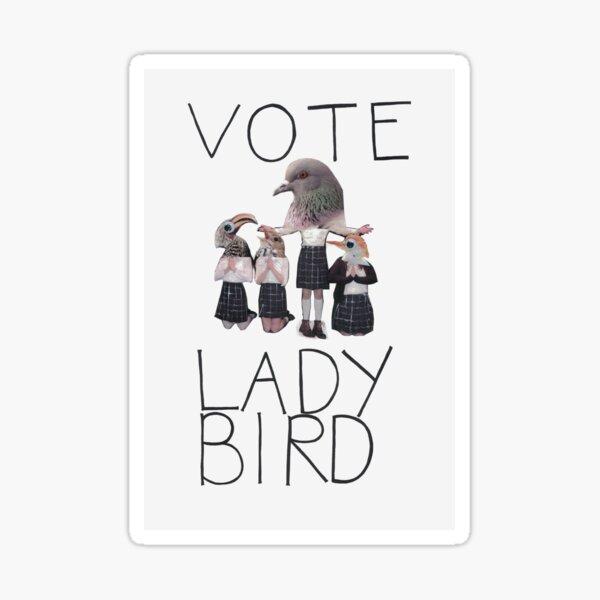 Vote Ladybird Poster Sticker