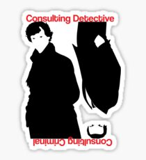 Consulting Detective, Consulting Criminal #2 Sticker