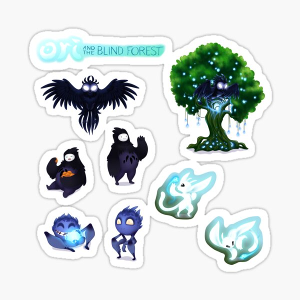 Ori and the Blind Forest Chibi pegatinas Pegatina