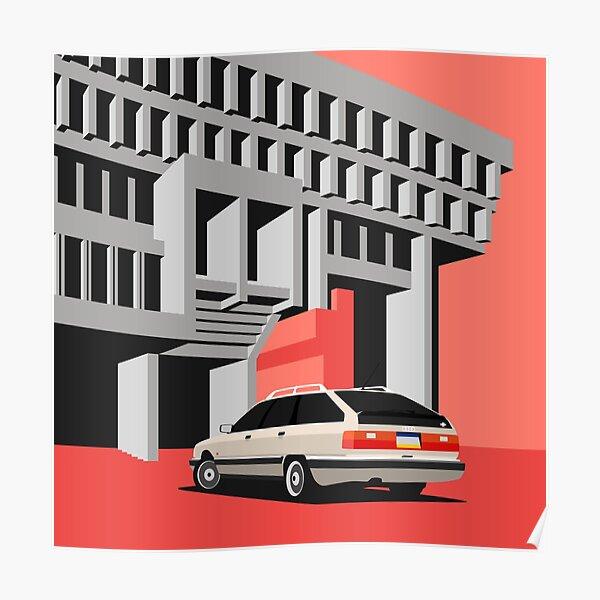 Audi 200 Avant Poster