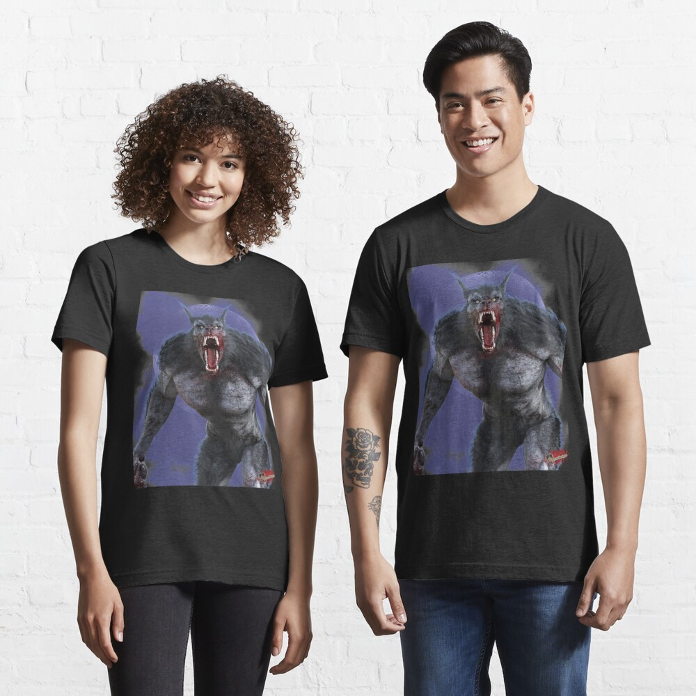 Classic Monsters: Werewolf By Moonlight 3 Slim Fit T-Shirt Essential T-Shirt