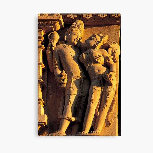Vishnu Lakshmi Temple Complex Parshvanatha Khajuraho Madhya Canvas Print
