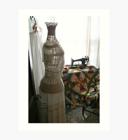Sewing Room Art Print