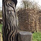 Uisneach woodcarving by ShaneMcCullough