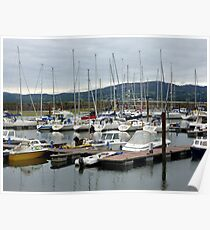 Lough Swilly Marina Poster