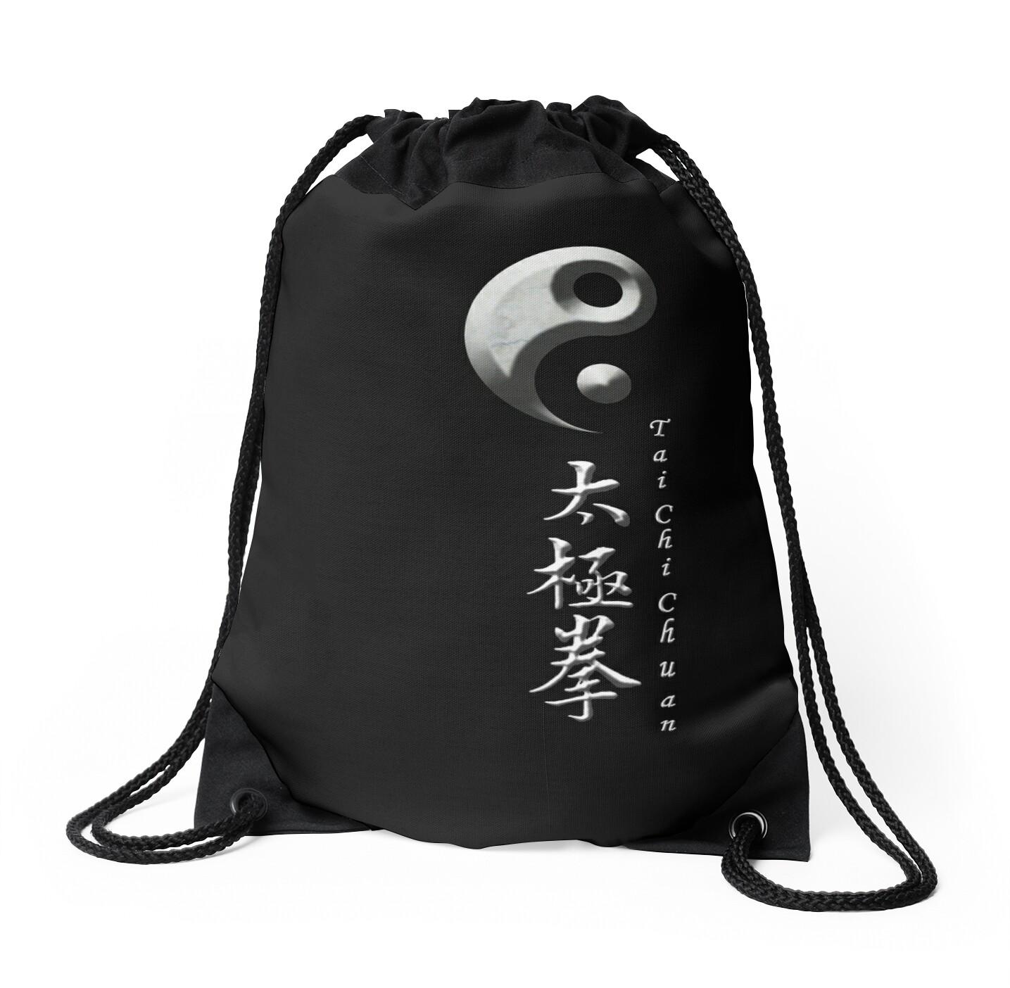 Yin yang symbol for tai chi chuan drawstring bags by gary yin yang symbol for tai chi chuan by gary matthews biocorpaavc Gallery