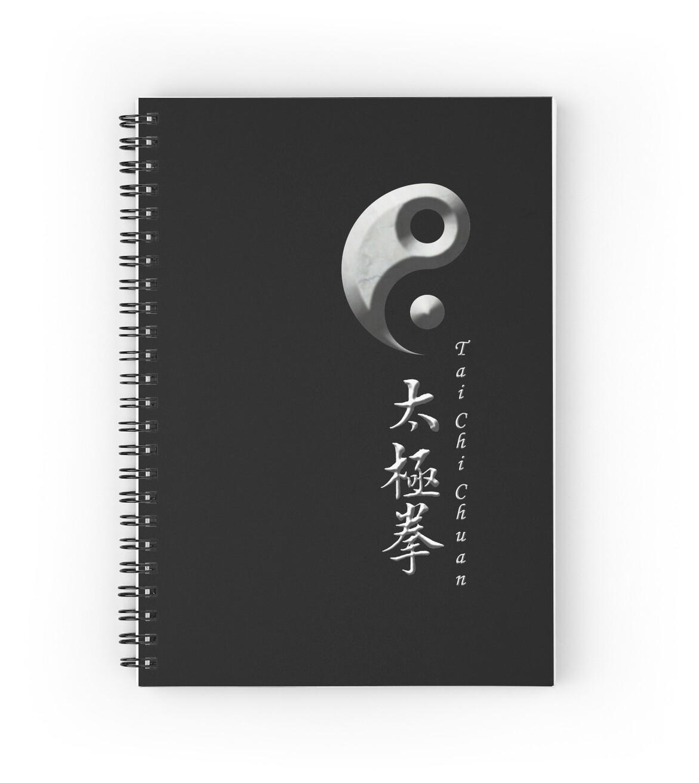 Yin yang symbol for tai chi chuan spiral notebooks by gary yin yang symbol for tai chi chuan by gary matthews biocorpaavc Gallery