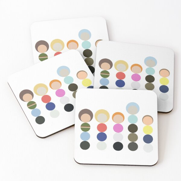 Rick and Morty Family Picture Coasters (Set of 4)