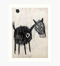 Horsey 2 Art Print