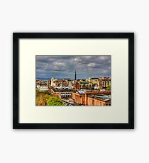 Over the Galleries Framed Print