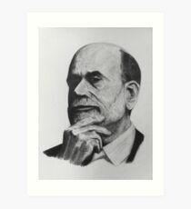 Ben Bernanke Art Print