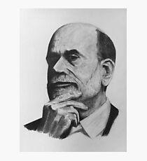 Ben Bernanke Photographic Print