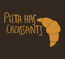 Peeta Has Croissants - Yellow