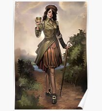 Steampunk Knight of Cups Poster