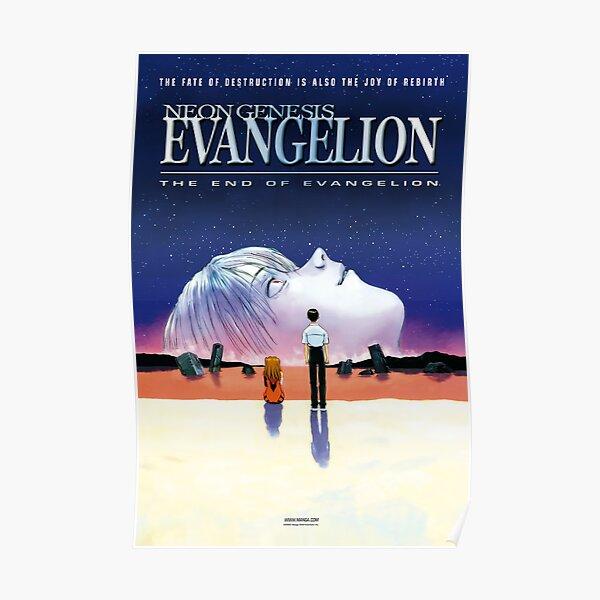 Póster El fin de Evangelion [ALTA CALIDAD] Póster