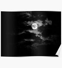 Eerie Moon Poster