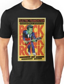 Electric Frankenstein Vancouver Canada Poster T-Shirt