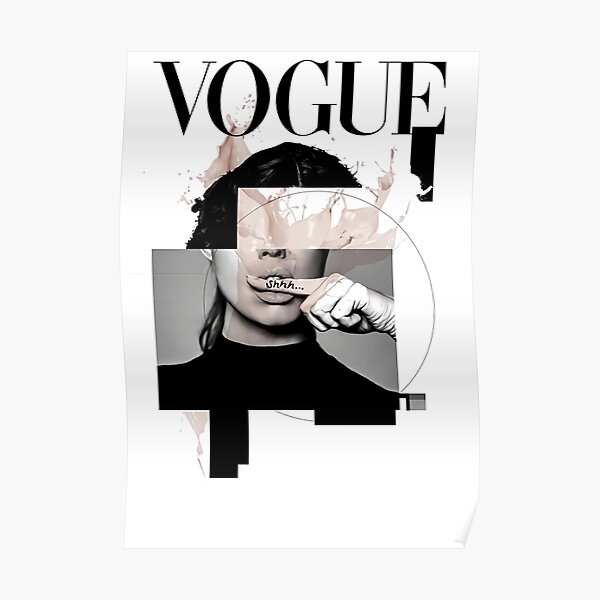 VOGUE: Vintage 1950 Poster