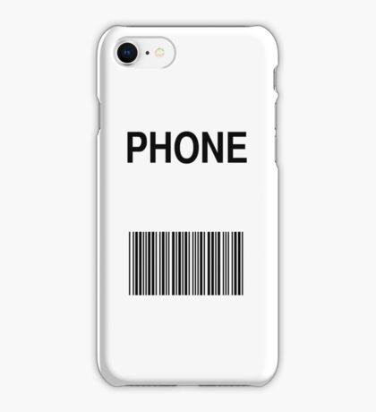 Phone Barcode iPhone Case/Skin