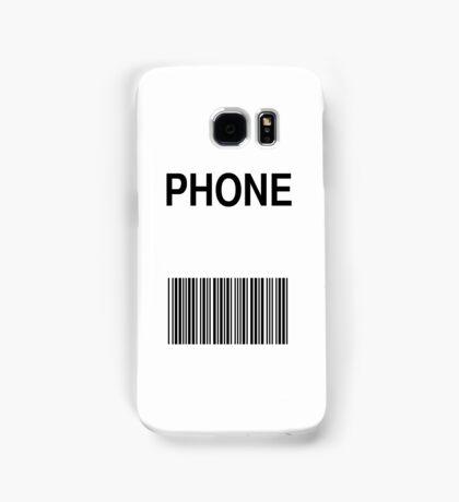 Phone Barcode Samsung Galaxy Case/Skin