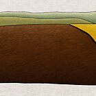 Stubble Burn Off - Distant Canola by Julian Newman
