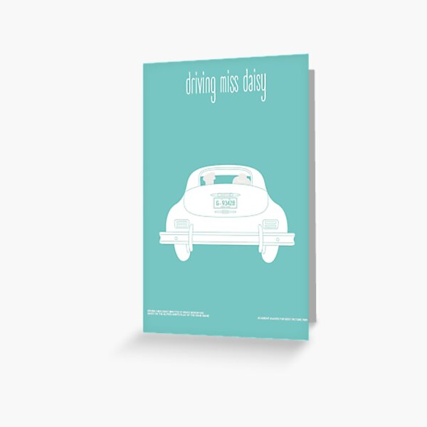 Driving miss Daisy Greeting Card