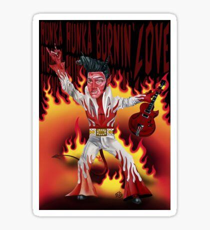 Burnin' Lurv Sticker