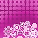 Concentrics - Berry [iPhone/iPod case] by Didi Bingham